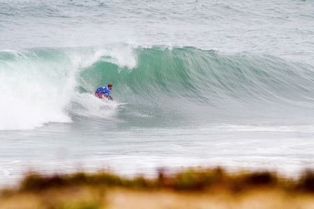 Barrel time - Rip Curl Pro Portugal - Supertubos, Peniche'