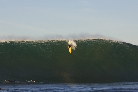 Ben Andrews, Mavericks 2008, Californie