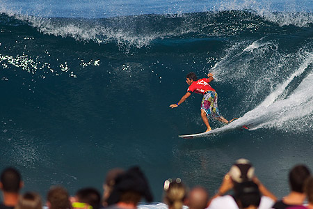 Billabong Pipe Masters 2010 : Jeremy Flores'