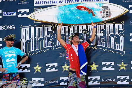 Billabong Pipe Masters 2010 : Jeremy Flores