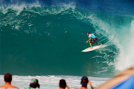 Billabong Pipe Masters 2010 : Tom Withaker'