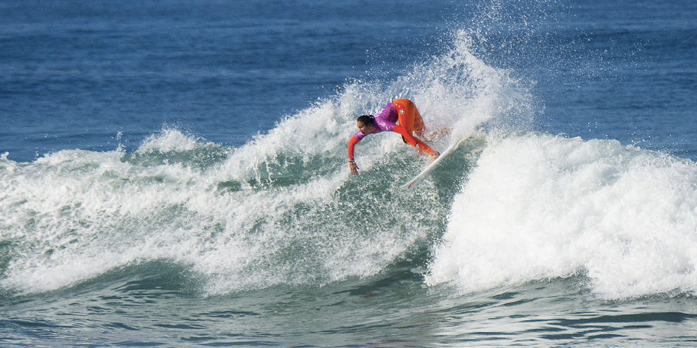 Carissa Moore s'incline en 1/2 - Roxy Pro France 2015