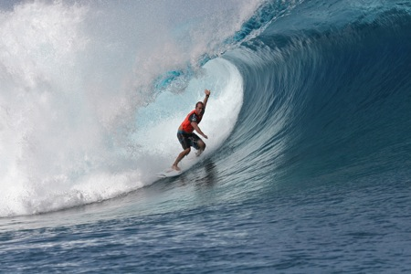 CJ Hobgood - Billabong Pro Tahiti 2012 - Teahupoo