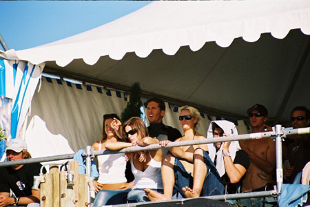 Le clan Irons, Quiksilver Pro France 2003, Hossegor