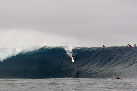 Cloudbreak, Fidji - 08 juin 2012