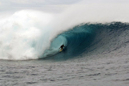 Cloudbreak, Fidji - 08 juin 2012'