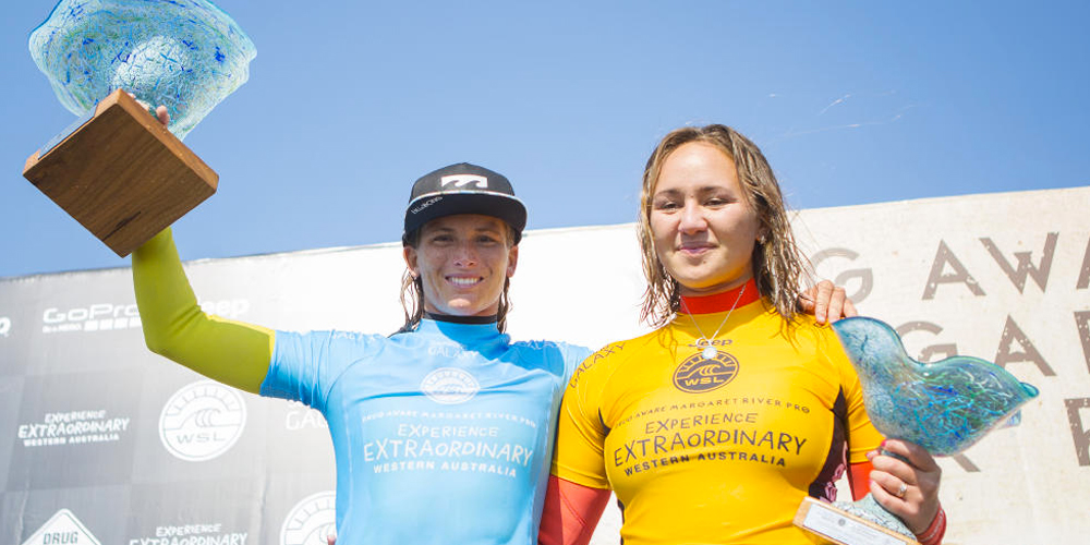 Courtney Conlogue et Carissa Moore - Drug Aware Margaret River Pro