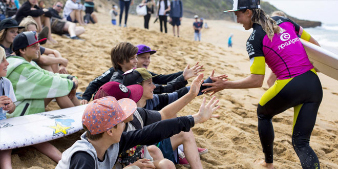 Courtney Conlogue - Rip Curl Pro Bells Beach 2014 - Australie