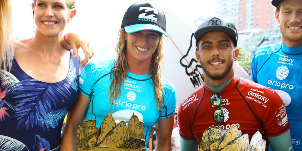 Courtney et Filipe - Oi Rio Pro 2015