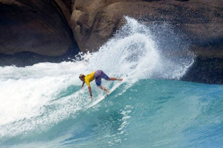 Dusty Payne - Billabong Pro Rio 2011