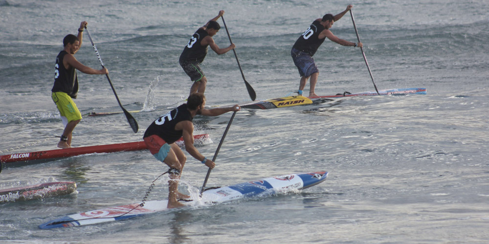 Eric Terrien - World Series de Stand Up Paddle Hawaii'