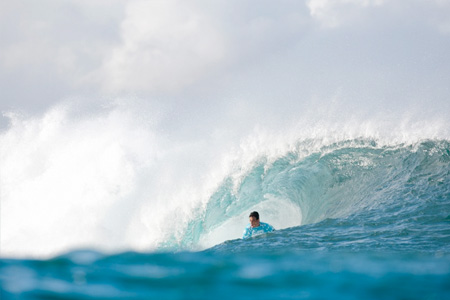 Evan Valiere - Billabong Pipe Masters 2011'