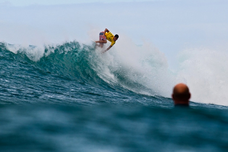 Evan Valiere - Van's World Cup - Sunset Beach, North Shore, Hawaii'