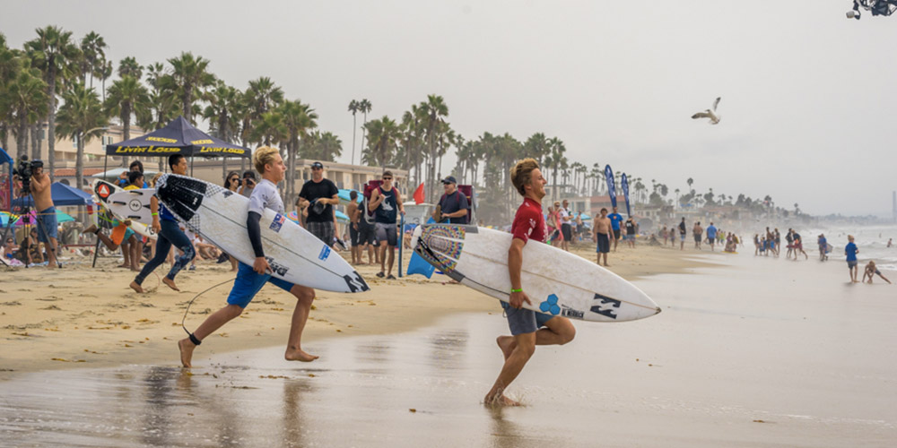 La France championne du monde ISA juniors 2015 de relais - Oceanside, Californie'