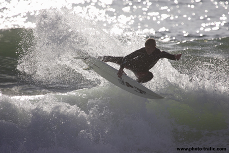 Grab air, Hossegor, France'