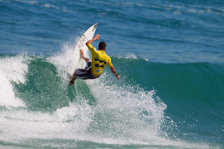Heitor Alves - Billabong Pro Rio 2012 - Journée 1'