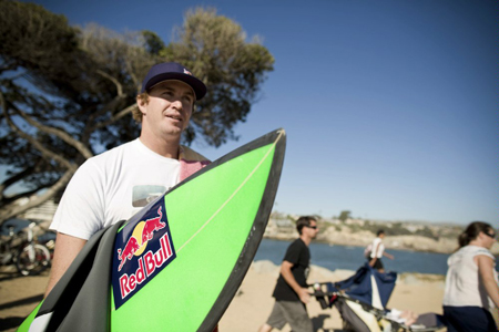 Jamie O'Brien - Red Bull Wedge Session 2012 - Newport Beach