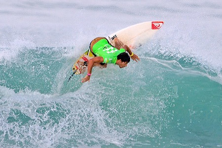 Jeremy Flores - Billabong ISA World Surfing Games 2011