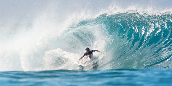 Jeremy Flores - Billabong Pipe Masters 2013'