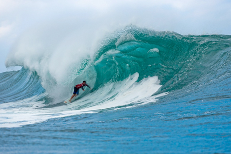 Jeremy Johnston - Volcom Pipe Pro 2013 - Pipeline, Oahu, Hawaii'