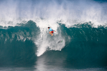 Jeronimo Vargas - Volcom Pipe Pro 2013 - Pipeline, Oahu, Hawaii'