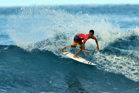 Jocelyn Poulou - Billabong ISA World Surfing Games 2011