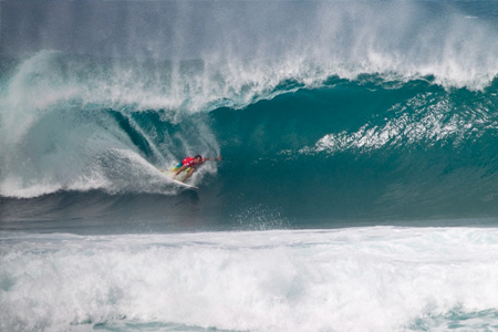 Joel Parkinson - Billabong Pipe Masters 2011'