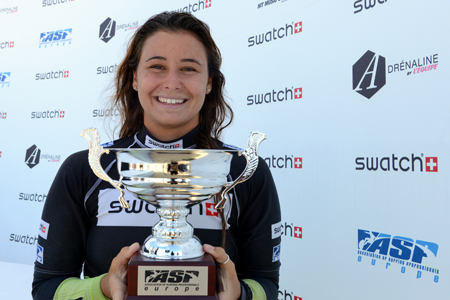 Johanne Defay championne d'Europe Junior - Swatch Girls Pro 2013 - Le Penon, Seignosse - Hossegor'