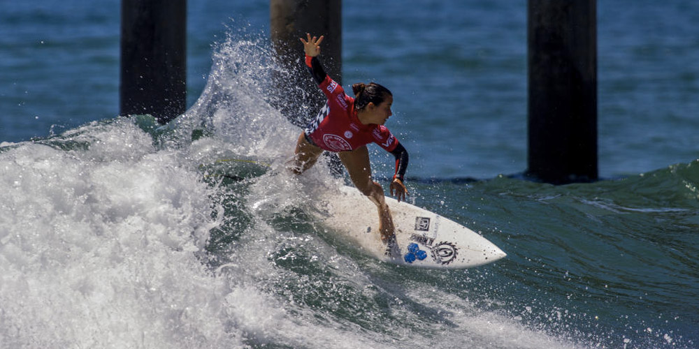 Johanne Defay - US Open Of Surfing 2015 - Huntington Beach'
