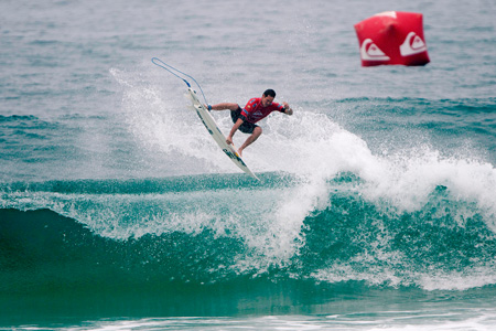 Jordy Smith - Quiksilver Pro France 2011'