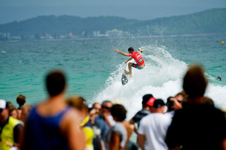 Jordy Smith - Quiksilver Pro Gold Coast 2012'