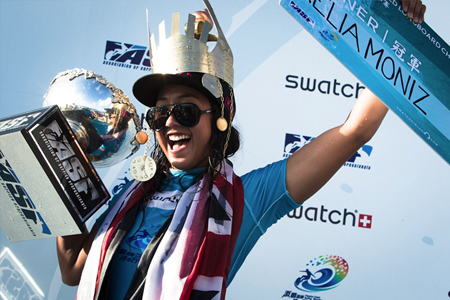 Kelia Moniz - Swatch Girls Pro China 2012 - Wanning