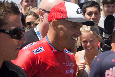 Kelly Slater - Nike US Open of Surfing 2012'