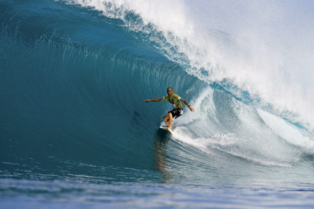 Kelly Slater, Pipe Master 2005 - © Scott Aichner'