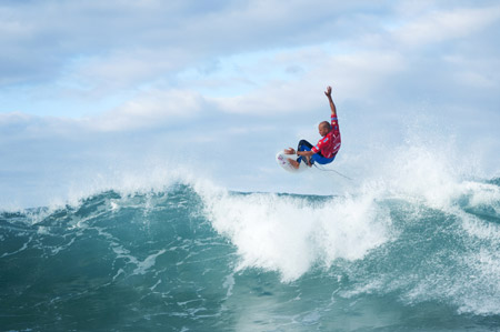 Kelly Slater, Pro France, 2010 - © Greg Rabejac'