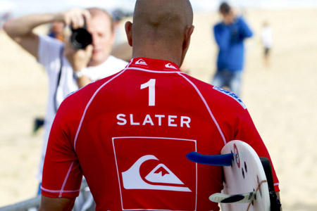 Kelly Slater, Pro France, 2010 - © Will Bailley