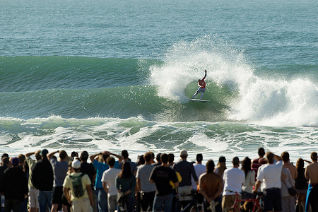 Kelly Slater - Rip Curl Pro Search San Francisco 2011