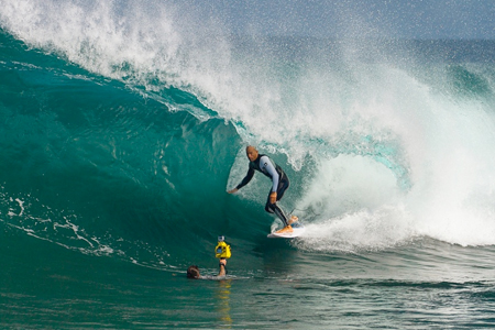 Kelly Slater, The Box, Australie