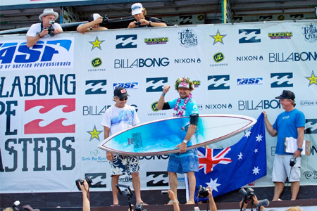 Kieren Perrow - Billabong Pipe Masters 2011