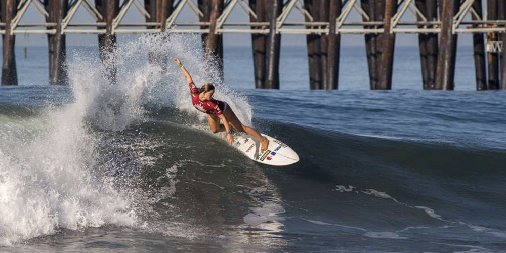 Kim Veteau - championnat du monde ISA juniors 2015 - Oceanside, Californie'
