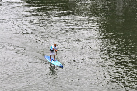Laird Hamilton - Session sur la Seine - Paris 2012'