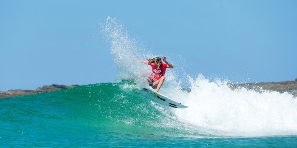 Laura Enever - Roxy Pro Gold Coast 2015 - Snapper Rocks