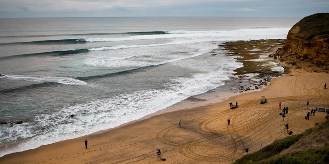 Line-up du Rip Curl Pro Bells Beach 2014'