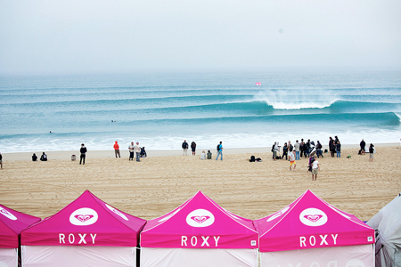 Line-up - Roxy Pro France 2013 - Seignosse - Hossegor