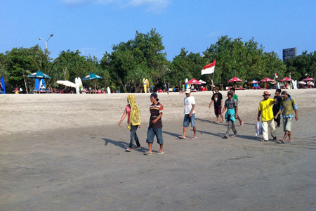 Local, Kuta beach, Bali