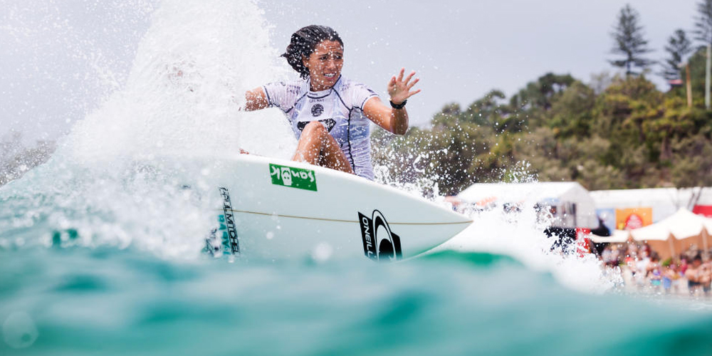 Malia Manuel - Roxy Pro Gold Coast 2015 - Snapper Rocks