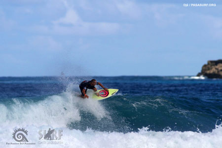 Marc Biel - Pan American Surfing Games 2011