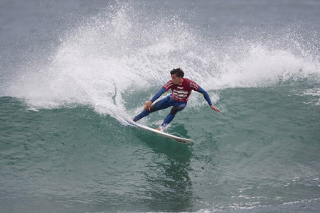 Maxime Huscenot - Billabong Pro J-Bay 2012 - Afrique du Sud