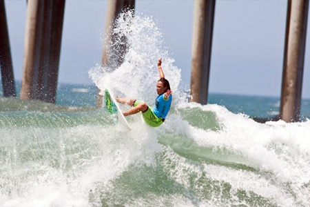 Melanie Bartels - US Open of Surfing 2011'