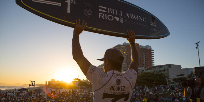 Michel Bourez - Billabong Pro Rio 2014